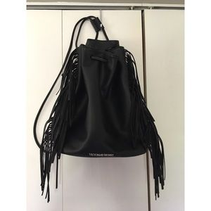 Victoria's Secret Fashion Show fringe backpack